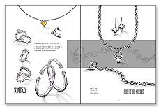 Campaign Spread: SPR-A1 Metallic Ink Spreads