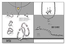 Campaign Spread: SPR-B1 Metallic Inks