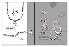 Campaign Spread: SPR-C1 Metallic Inks